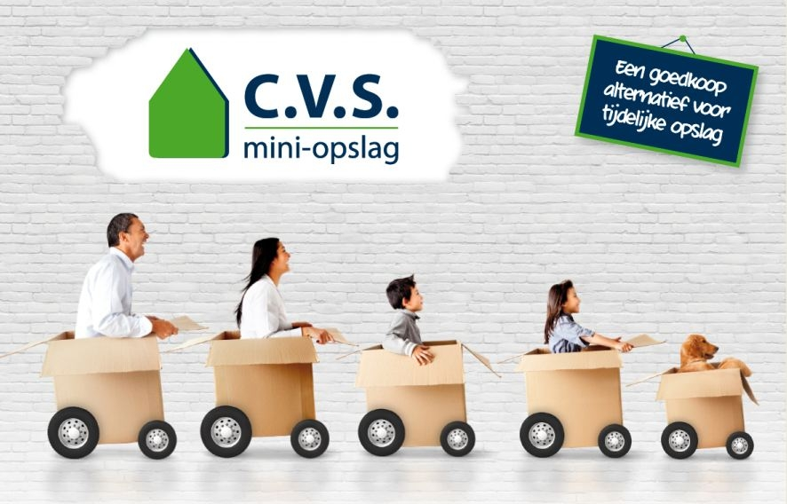 Woniningontruiming CVS opslag Allsafe Eurobox