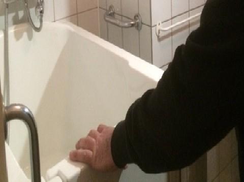 Verwijdering van ouderenbad