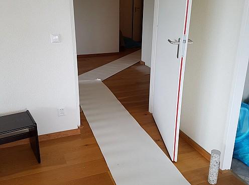 Stukloper tegen beschadiging vloer