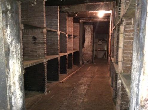 Woningontruiming oude wijnkoperij