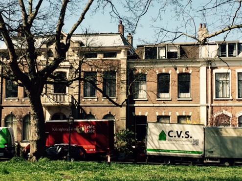 Woningontruiming grote woning op de Plantage in Leiden