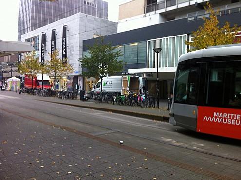 Ontruiming in hartje Rotterdam